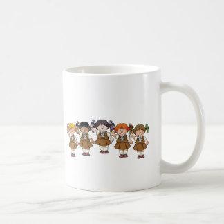 "Mug Groupe de ""brownie"""