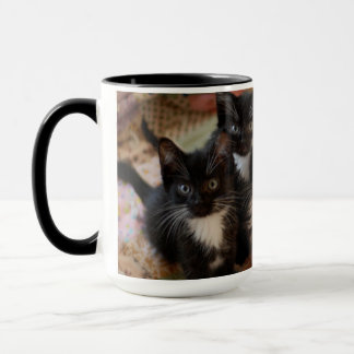 Mug Groupe de chaton de smoking
