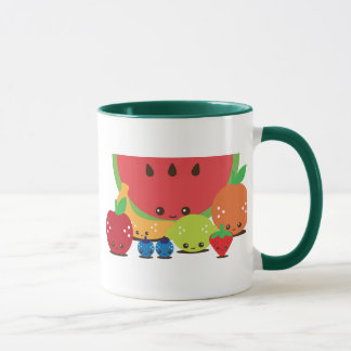 Mug Groupe de fruit de Kawaii