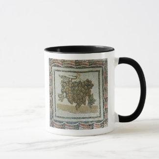 Mug Groupe de raisins blancs, mosaïque romaine