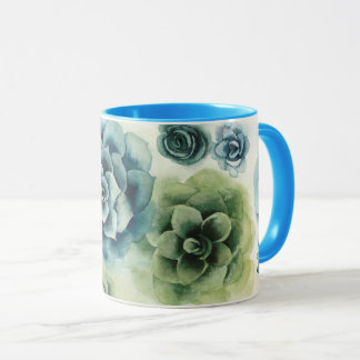 Mug Groupe de Succulents