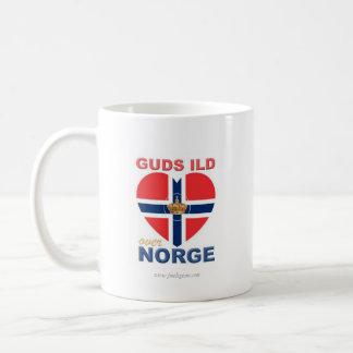 Mug GUDS ILD AU-DESSUS de Norvégien de NORGE