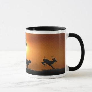 Mug Guépard et gazelle