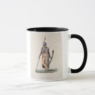 Mug Guerrier de l'île de Guebe, de 'aut de voyage