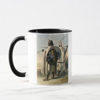 Mug Guerriers abyssiniens, illustration 'de la vallée