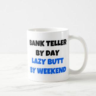 Mug Guichetier par week-end paresseux de bout de jour
