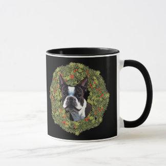 Mug Guirlande de Boston Terrier