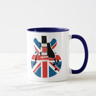 Mug Guitare de Britpop
