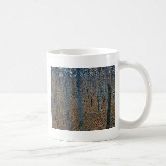 Mug Gustav Klimt - hêtraie. Faune de nature d'arbres