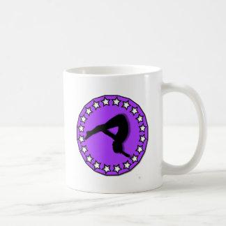 Mug Gymnaste dans le pourpre