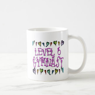 Mug Gymnaste du niveau 6
