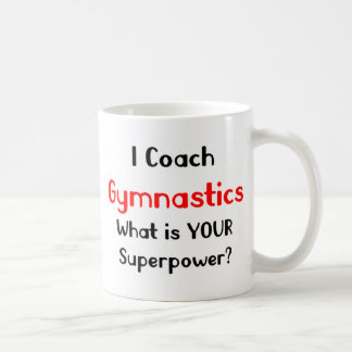 Mug Gymnastique d'entraîneur