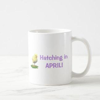 Mug Hachure en avril ! Dû de maternité/enceinte en