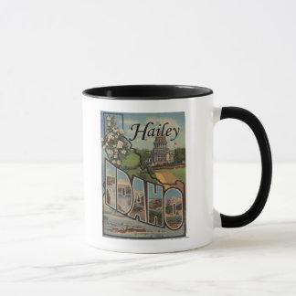 Mug Hailey, lettre ScenesHailey, identification