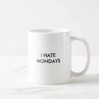 Mug Haine du style de preuve de lundi 100