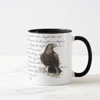 Mug Halloween, Edgar Allen Poe, Raven, plus jamais