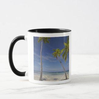 Mug Hamac et palmiers, île-hôtel de plantation