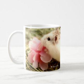 Mug Hammyville - amour de fleur de hamster