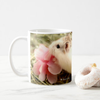 Mug Hammyville - odeur de fleur de hamster les roses