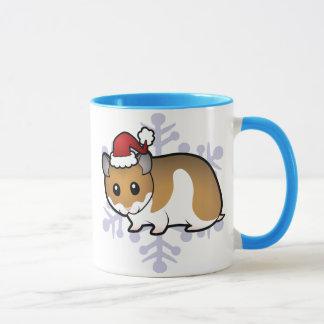 Mug Hamster de Syrien de Noël