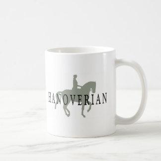 Mug HANOVERIAN avec le cheval et le cavalier de