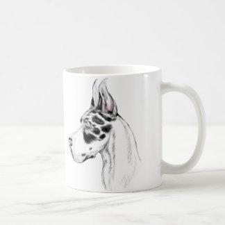 Mug Harlequin de great dane féminin