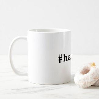 Mug #hashtag