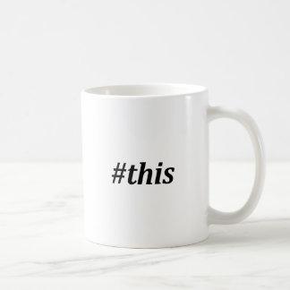 Mug Hashtag - ceci