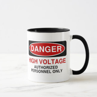 Mug Haute tension de danger