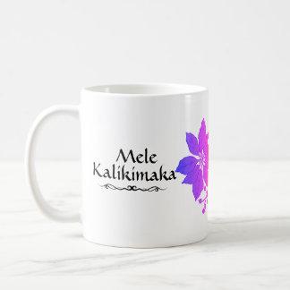 Mug Hawaïen tropical de Mele Kalikimaka