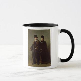 Mug Heinrich Schliemann et son épouse