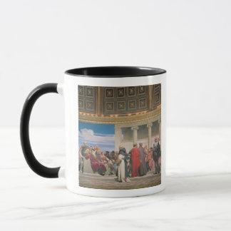 Mug Hémicycle : Artistes de tous les âges, détail du