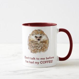 Mug Hérisson de café