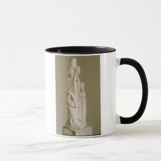 Mug Herm triforme de Hecate, sculpture de marbre, pe