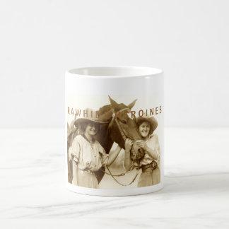 Mug Héroïnes de cuir vert