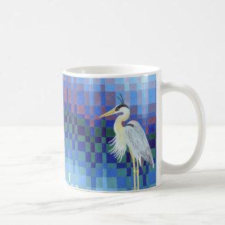 Mug Héron de grand bleu