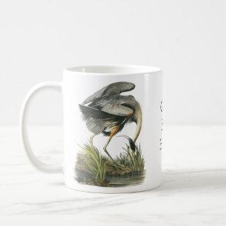 Mug Héron de grand bleu, John Audubon
