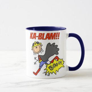 Mug Héros de fille de Blam de ka