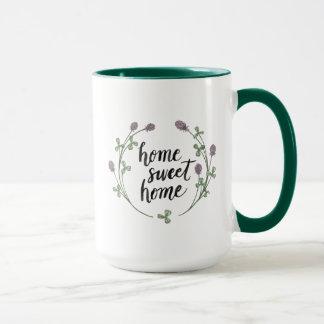 Mug Heureux à la maison douce | à la maison des mots I