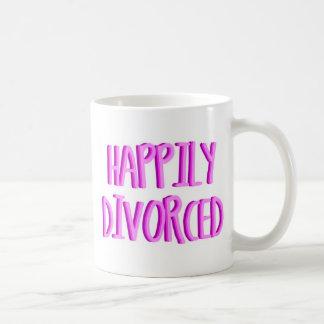 Mug Heureux d'être femelle divorcée