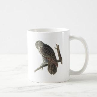 Mug Hibou de grand gris par Audubon