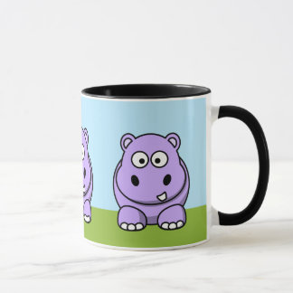 Mug Hippopotame mignon de lavande