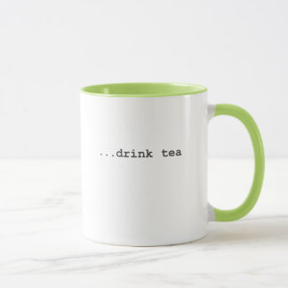 Mug Histoire d'utilisateur - thé de boissons