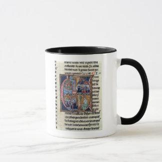 """Mug Historiated parafent """"C"""" dépeignant Conrad III"""
