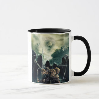 Mug Hobbits prêt à lutter