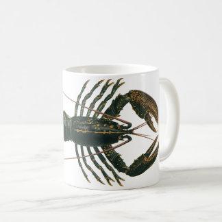Mug Homard vintage, crustacé marin de la vie d'océan