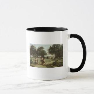 Mug Homer et les bergers dans un paysage, 1845