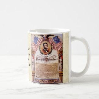 Mug Hommage de proclamation de The Emancipation à