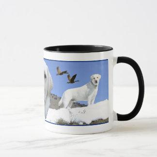 Mug Hommage jaune de Labrador