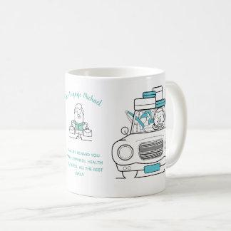 Mug Homme de déplacement personnalisé par cadeau drôle